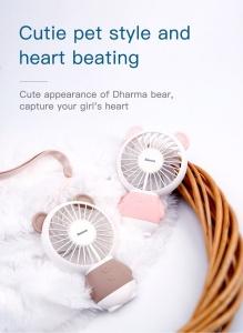 Quạt mini Baseus Gấu dễ thương (1.5h dùng liên tục)